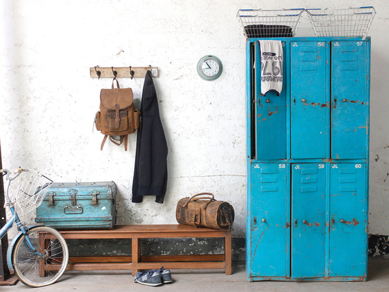 View our  Vintage Lockers from the  Hallway collection