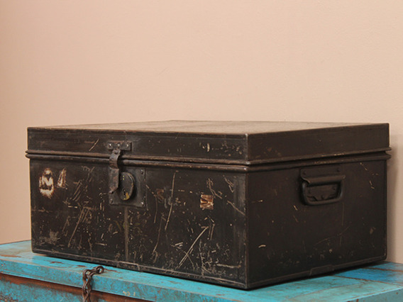 View our  Vintage Metal Legal Deeds Chest from the   collection