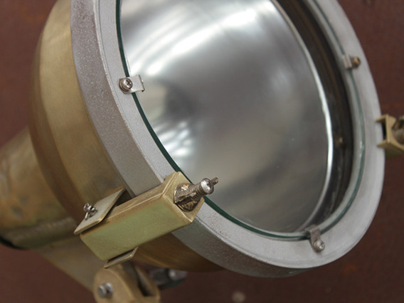 View our  Vintage Metal Ship's Spotlight LTNG75012 from the  Vintage & Retro Lighting collection