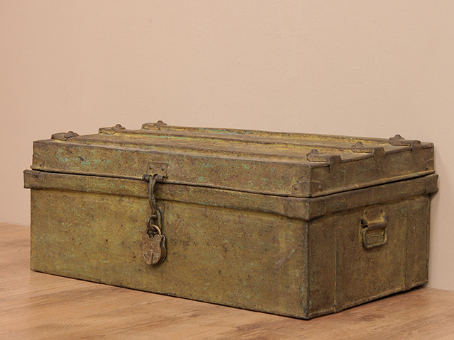 View our  Vintage Metal Travel Case  from the  Old Travel Trunks collection