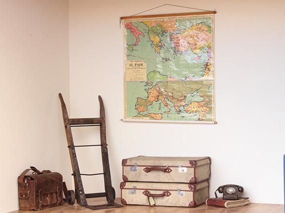 Vintage Military Suitcase TLNM45147