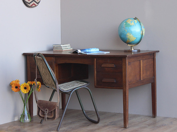 View our  Vintage Office Desk (D) from the   collection