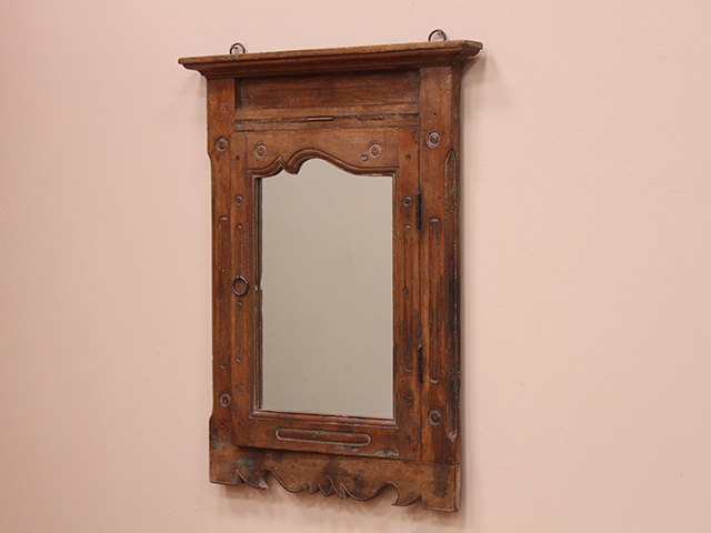 View our  Vintage Ornate Double Mirror from the  Wooden Mirrors collection