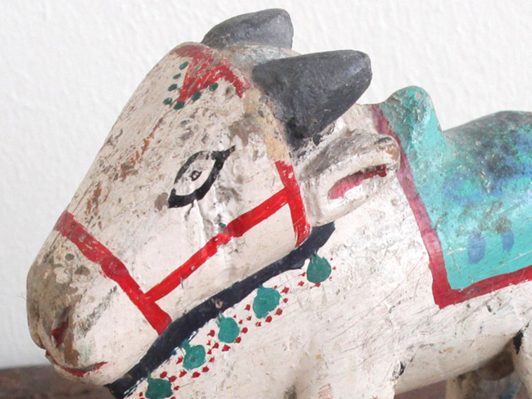 View our  Vintage Painted Cow from the   collection