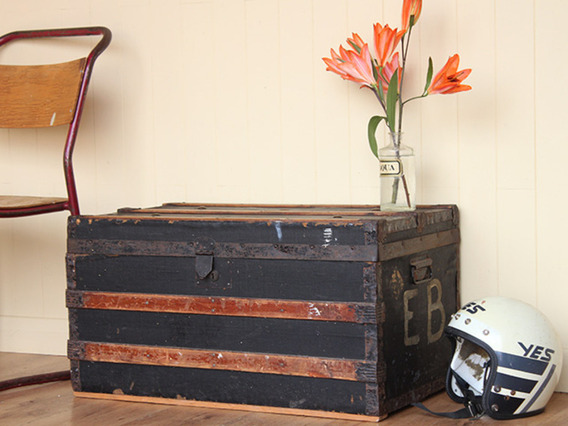 View our  Vintage Shipping Trunk from the   collection