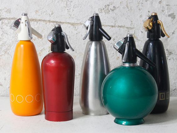 View our  Vintage Soda Siphon Bottle from the  Dining Room collection