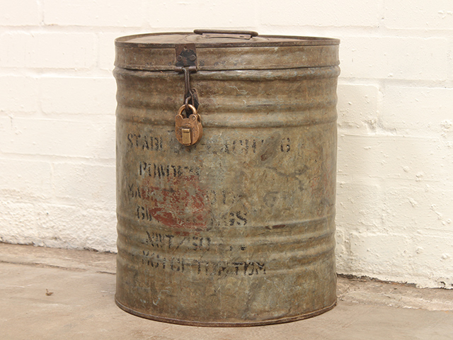 View our  Vintage Storage Drum  from the   collection