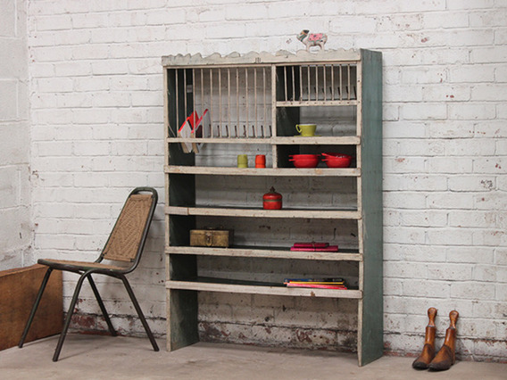 Vintage Storage and Display Rack