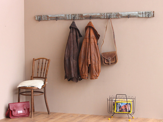 View our  Vintage Teak Coat and Hat Hook Rack from the   collection