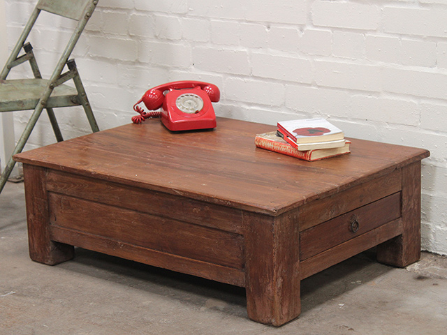 View our  Vintage Teak Coffee Storage Table from the   collection