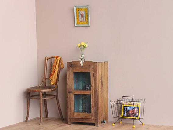 Vintage Teak Floor Cabinet