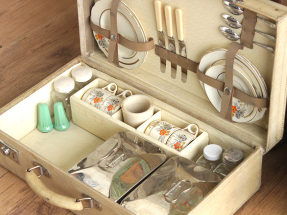 View our  Vintage Vellum Picnic Hamper from the   collection