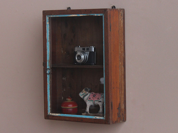 Vintage Wall Hanging Cabinet