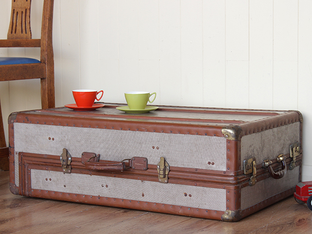 View our  Vintage Wardrobe Suitcase from the  Vintage Suitcases collection