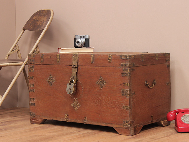 View our  Antique Teak Wedding Chest from the   collection