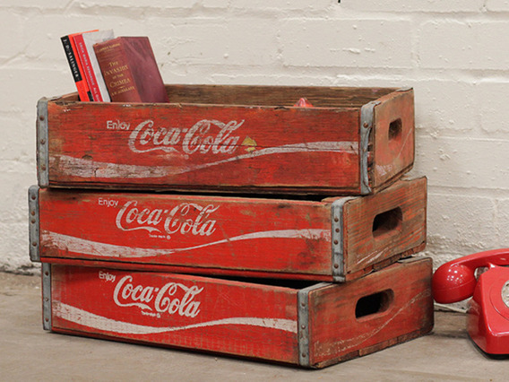 View our  Vintage Coke Cola Crate from the   collection