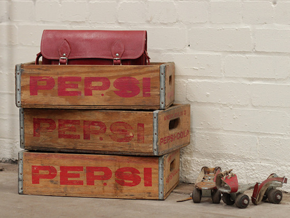 View our  Vintage Pepsi Crate from the   collection