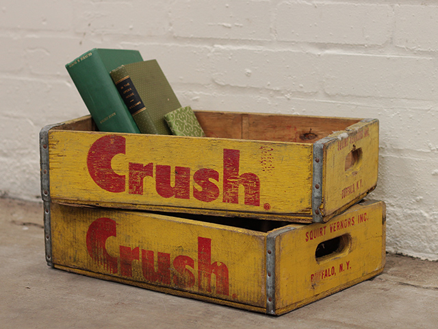View our  Vintage Crush Bottle Crate from the   collection
