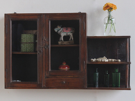 Wall-Hanging Wooden Cabinet CABS30352 C
