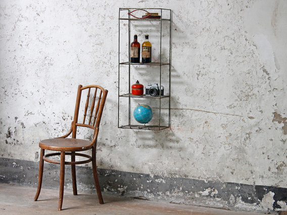 Wall Mounted Wire Rack