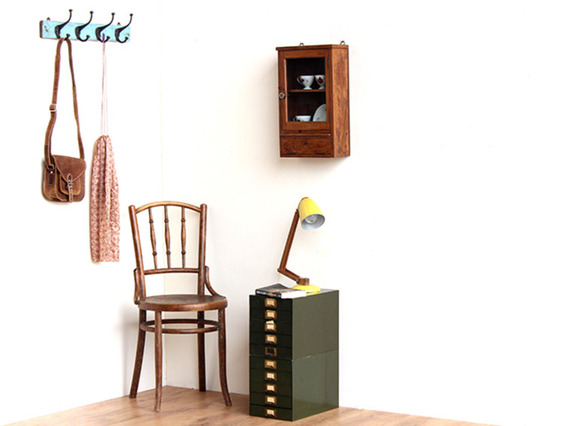 Wall-hanging Vintage Cabinet CABS30283