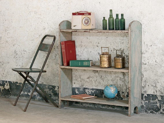 View our  Paint Distressed Vintage Shelving from the   collection