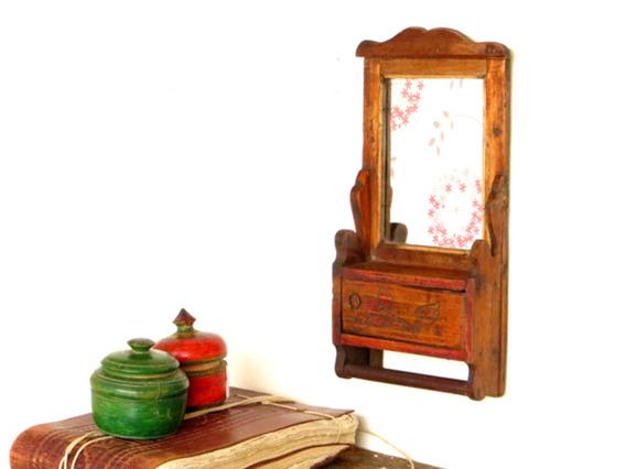 Wooden Mirror MIRR35216