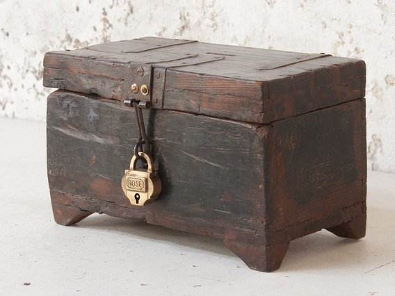 View our  Wooden Money Box from the  Old Wooden Chests, Trunks & Boxes collection
