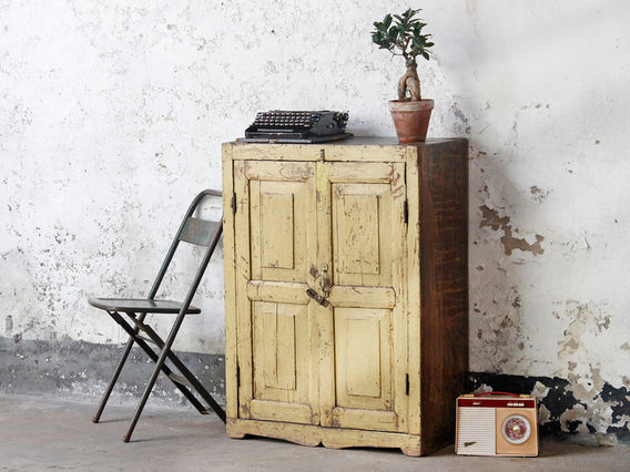 Vintage Storage Cupboard