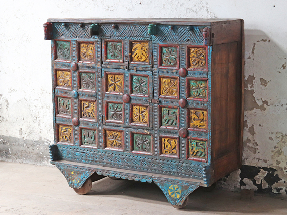 View our  Antique Damchiya Chest from the  Vintage Cabinets & Storage Cupboards collection