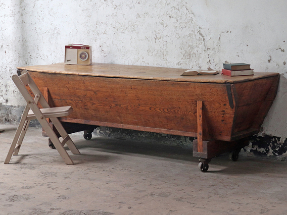 View our  Victorian Dough Trough Chest from the   collection