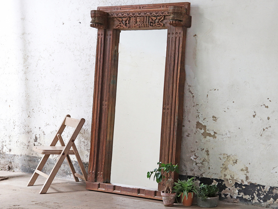 View our  Antique Floor Mirror from the  Hallway collection