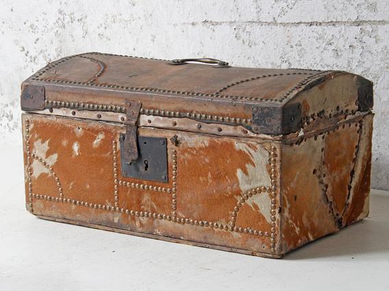 Antique Georgian Travel Trunk