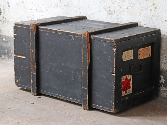 View our  Antique Military Trunk from the   collection