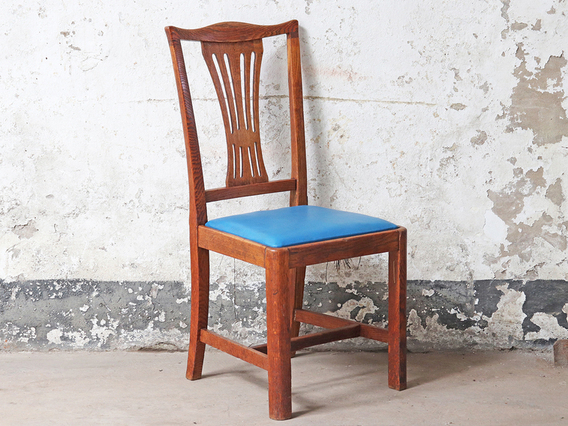 View our  Antique Oak Library Chair  from the   collection
