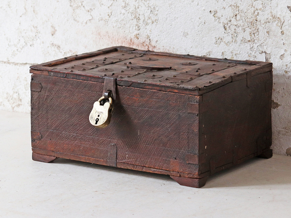 View our  Antique Shekhawati Box from the  Hallway collection