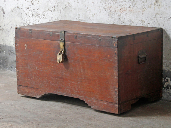 View our  Antique Wedding Chest from the  Coffee Table Chest collection
