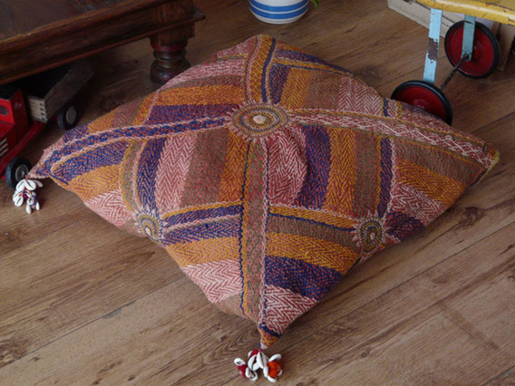 View our  Vintage Banjara Cushion 101 from the  Vintage Wooden Pots collection