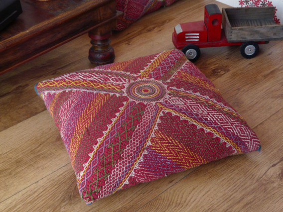 View our  Vintage Banjara Cushion 102 from the  Vintage Wooden Pots collection