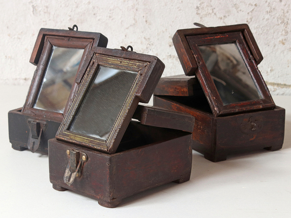 View our  Mini Vintage Jewellery Box from the   collection