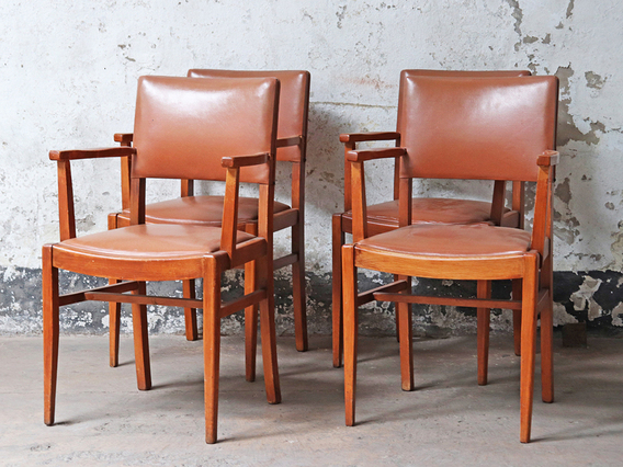 View our  Vintage Armchairs (Set of 4) from the   collection