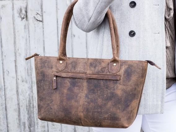 View our  Bella Leather Handbag from the   collection