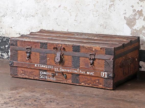 Old Storage Travel Trunk