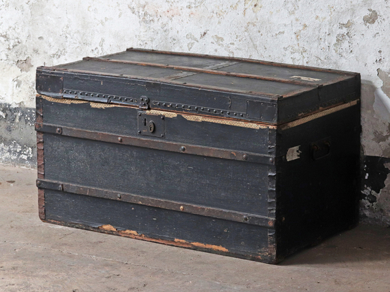 View our  Black Travel Trunk from the  Old Travel Trunks collection