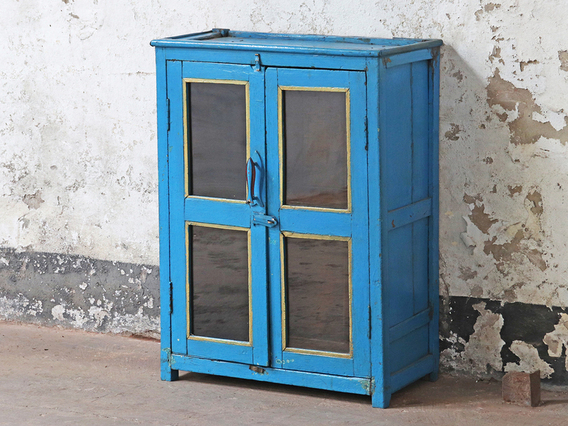 View our  Vintage Blue Display Cabinet from the  Display Cabinets collection
