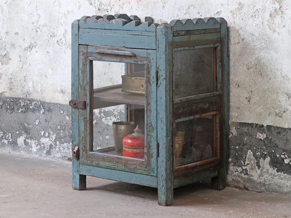View our  Vintage Glass Cabinet from the  Furniture and Interiors collection