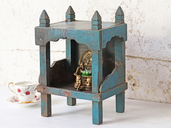 View our  Blue Temple Cabinet from the  Storage Chests collection