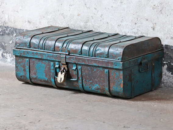 View our  Metal Storage Trunk from the  Kitchen  collection