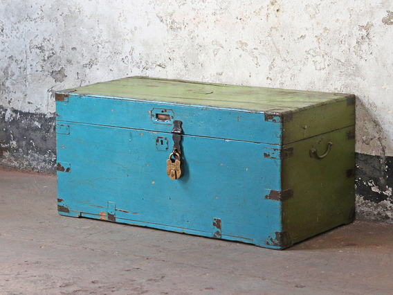 View our  Antique Camphorwood Chest from the   collection