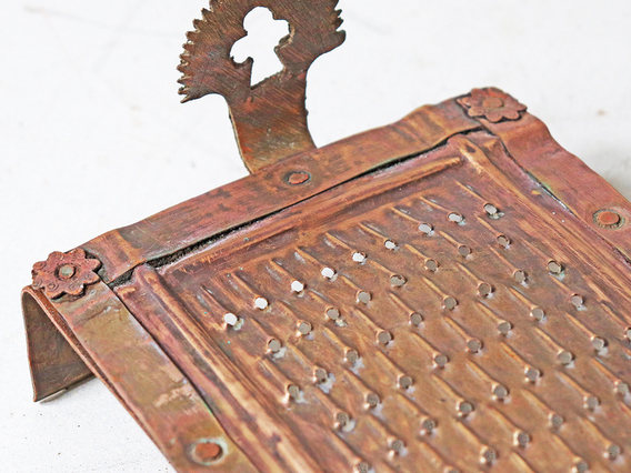Vintage Brass Grater - Small